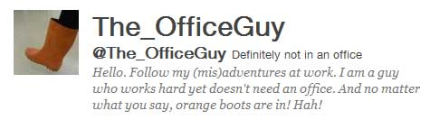 the_officeguy twitter profile